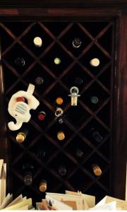 Wine rack post baby