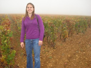 Me in one of the vineyards of Louis Latour