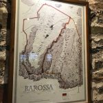 Barossa map in Rockford tasting room