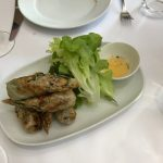 Spring rolls at Ferment Asian