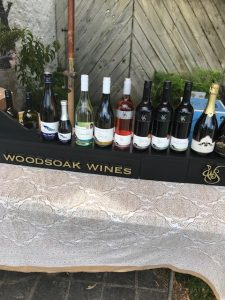 The line up of Woodsoak wines