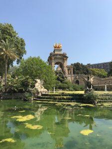 In the Parc de la Ciutadella