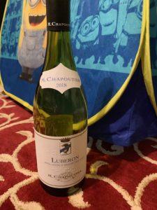 Bottle of M. Chapoutier Luberon Grenache Syrah 2018