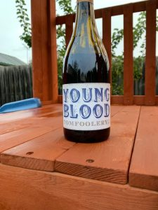 Bottle of Young Blood Tomfoolery 2019