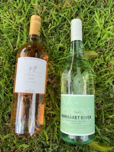 La Mule Rosé 2019 and A.C. Byrne & Co Sauvignon Blanc Semillon