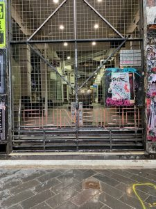 Closed Arcade in Melbourne CBD